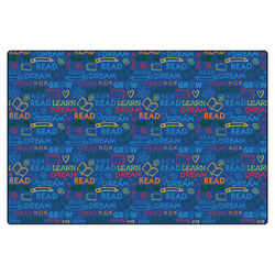 Read to Dream Pattern Rug - 6' x 9' Rectangle
