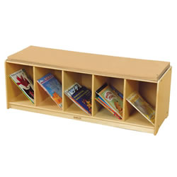 Book Bench with Doe Cushion