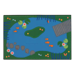 Tranquil Pond KID$ Value Rugs