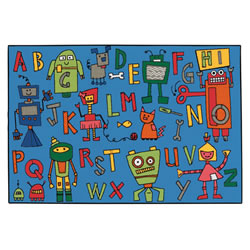 Reading Robots KID$ Value Rugs