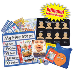 Bilingual Feeling Buddies® Self-Regulation Toolkit - English/Spanish