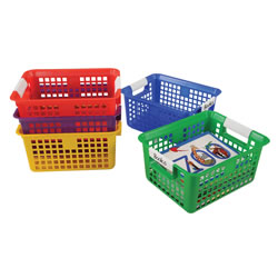 Basket with Label Holder (Set of 5)