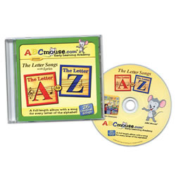 CD: The Letter Songs A–Z