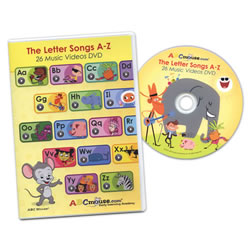 DVD: The Letter Songs A–Z