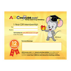 ABCmouse.com One-Year Teacher Gift Membership
