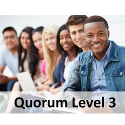Quorum 1-Year Premium Membership Level 3 (Up to 60 Staff/Providers)