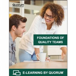 Foundations of Quality Teams (Program Leadership Course)