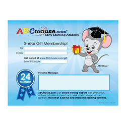 ABCmouse.com Two-Year Teacher Gift Membership