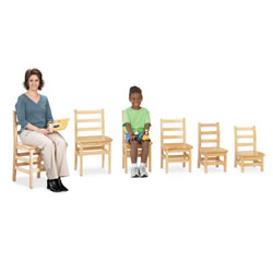 Ladderback Chairs - Set of 2