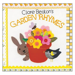 Clare Beaton's Garden Rhymes - Board Book