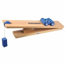 Simple Machine - Inclined Plane and Cart Model