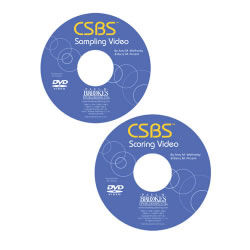 CSBS™ - Normed Edition - Sampling and Scoring CD