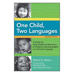 One Child, Two Languages (Paperback with CD-ROM)