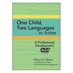One Child, Two Languages DVD in Action