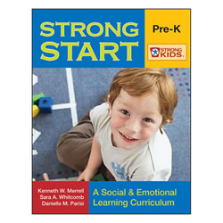 Strong Start Pre-K (Paperback with CD-ROM)