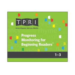 Progress Monitoring for Beginning Readers Kit - PMBR (Boxed Set)