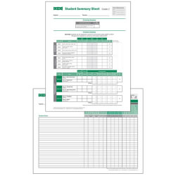 TRPI Student Record and Class Summary Sheets - Grade 2
