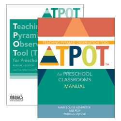 TPOT for Preschool Classrooms Set, Research Edition