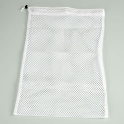 Washable White Mesh Bag