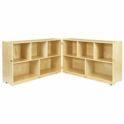 "Carolina 30""H Fold & Lock Storage Unit"
