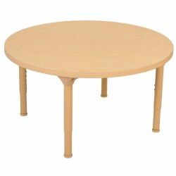"Carolina Laminate 36"" Round Tables with Adjustable Legs"
