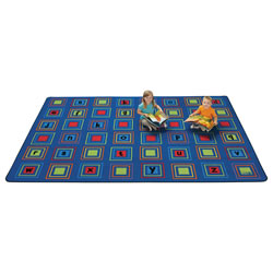 Literacy Squares Carpet - Primary