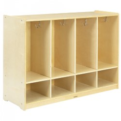 Carolina 4-Section Toddler Locker