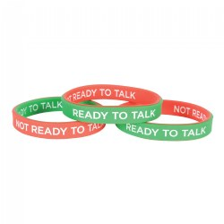 Child Size Mood Wrist Bands - Set of 3