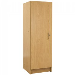 Nature Color Teacher Storage Cabinet - Natural