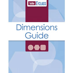 CLASS® Dimensions Guide, Toddler