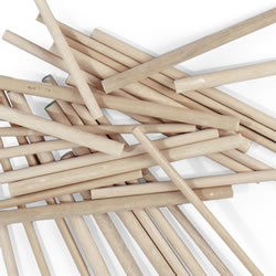Wooden Dowels (Bag of 12)