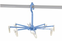 Clip & Drip Hanger with 8 Clips