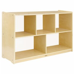 Carolina 5-Compartment Storage Unit - Acrylic Back