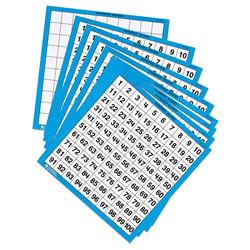 Hundreds Board Set (Set of 10)