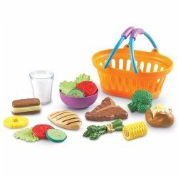 New Sprouts® Toddler Pretend Food Dinner Basket