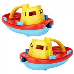Scoop® and Pour Tug Boats - Set of 2