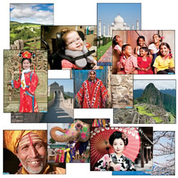 Places and Faces Culturally Diverse Posters