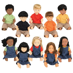 "16"" Multiethnic Doll"