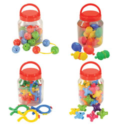 Manipulative Jars Complete Set