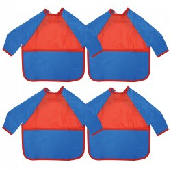 Toddler Long Sleeve Smock - Set of 4