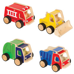 Super Tough Wooden Trucks
