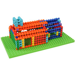 Playstix Deluxe Building Set - 211 Pieces