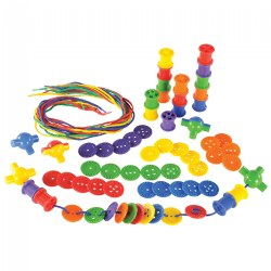 Buttons & Spools Lacing Set