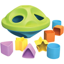 Eco-Friendly Shape Sorter for Infants and Toddlers