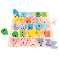 First Chunky Alphabet Puzzle