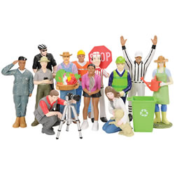 Vinyl Career Figures - Set of 12