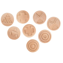 Interlocking Sensory Stones - Set of 8