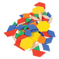 Pattern Blocks - 250 Pieces