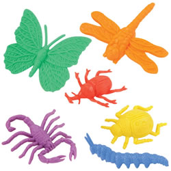 Colorful Assorted Bug Counters with 12 Different Insects