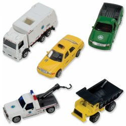 Official New York City Vehicle Set (Set of 5)